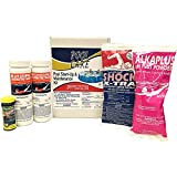 Qualco 42003 5,000 to 10,000 Gallon Swimming Pool Start Up Care Maintenance Kit