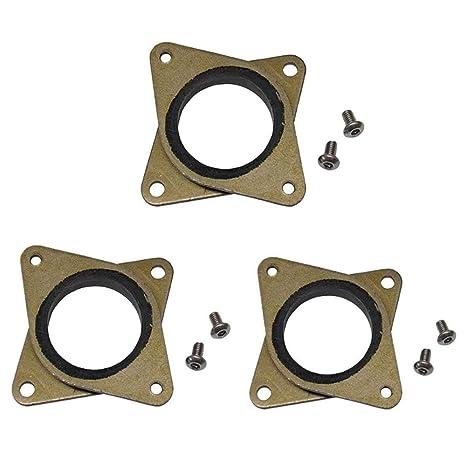 3 amortiguadores de vibración de acero y goma para impresora 3D ...