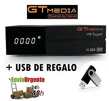 GTMEDIA V9 SUPER + USB DE REGALO
