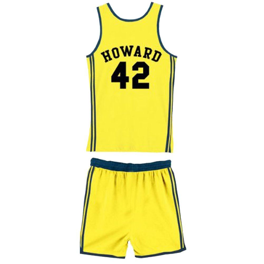 6c40ee8e4712 Amazon.com  Teen Wolf Beavers 42 Scott Howard Werewolf Basketball Jersey  Complete Costume  Clothing