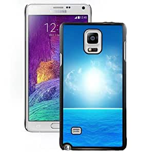 New Personalized Custom Designed For Samsung Galaxy Note 4 N910A N910T N910P N910V N910R4 Phone Case For Blue Sea Under The Bright Sunshine Phone Case Cover