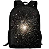 Backpack, Travel Hiking Cute Fashion Water Resistant Heavy Duty Large Camping Gym Black
