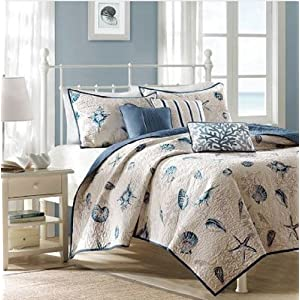 51qF9MvdlEL._SS300_ Coastal Bedding Sets & Beach Bedding Sets