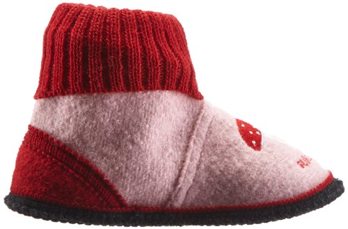 Adelheid Glückspilz Kinderhüttenschuh - Altas de fieltro niño rosa - Pink (rosa 610)