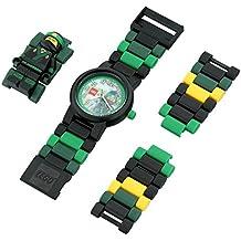 LEGO Ninjago Movie 8021100 Lloyd Kids Minifigure Link Buildable Watch   green/black  plastic   28mm case diameter  analog quartz   boy girl   official