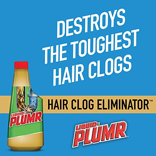 Liquid-Plumr Pro-Strength Clog Remover, Hair Clog Eliminator, 16 oz Pack of 12 + Handi Cleaning Wipes by Liquid-Plumr (Image #1)