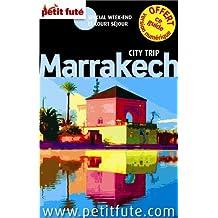 MARRAKECH 2014 + RABAT AVEC PLAN DE VILLE ET PLAN DE MÉTRO