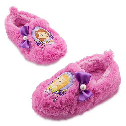 Disney Store Sofia the First Step Sisters Plush Slippers (9/10) -