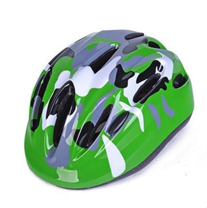 LHY SPORTS SERLES Casco deSeguridad Juvenil Protecciones Ajustable Bicicleta, Casco de niños Infantil de Años Peso Ligero Transpirable para Patinete ...