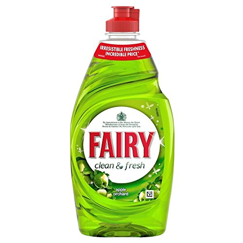 Fairy Clean & Fresh Washing Up Liquid Apple Orchard (433ml) (Fairy Dishwashing)