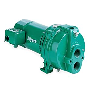 Fe Myers HJ100D Deep Well Jet Pumps, 1 HP, Cast Iron