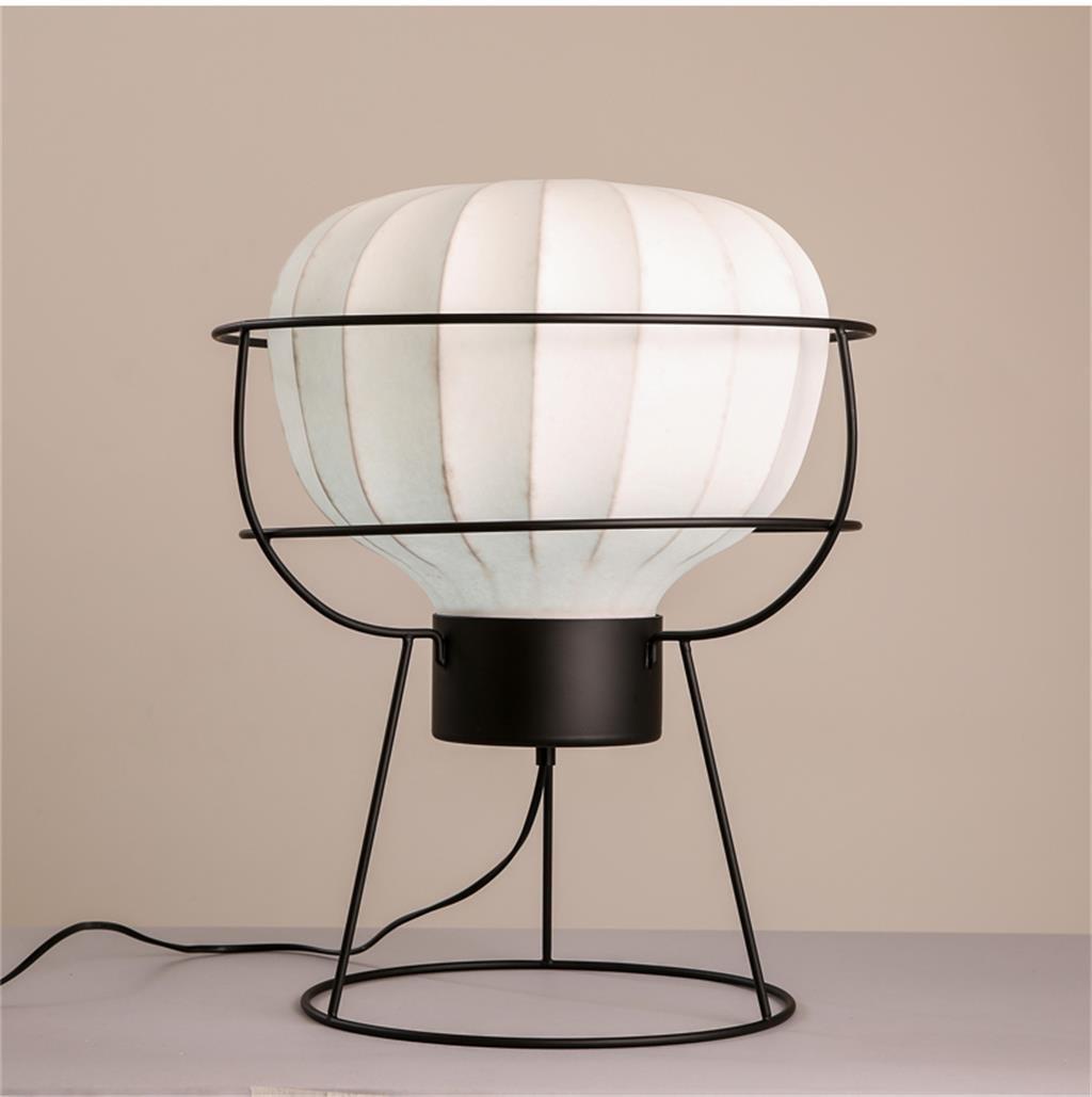 ZHENGAI Die neue chinesische Tischlampe modernen minimalistischen Wohnzimmer Schlafzimmer Nacht Studie Chinesische klassische Eisen Tischlampe Nachttischlampen
