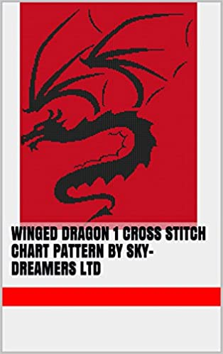 Read Winged Dragon 1 Cross Stitch Chart Pattern by Sky-Dreamers Ltd PDF