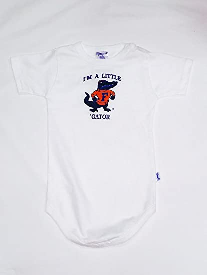 342d3a57 Amazon.com : Florida Gators Infant Little Gator Onesie (24 months ...