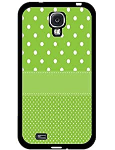 Adorable Grass Green Dots Hard Snap On Phone Case for Samsung Galaxy S4 I9500