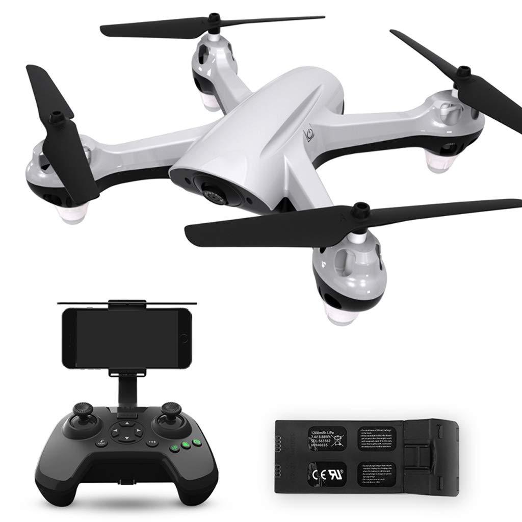 AX-electronic toy Drone 1 millón de píxeles HD fotografía aérea GPS Quadcopter / 1 sección batería UAV Blanco