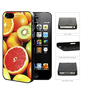 Colorful Fruit Slices Variety Pattern Hard Plastic Snap On Cell Phone Case Apple iPhone 4 4s