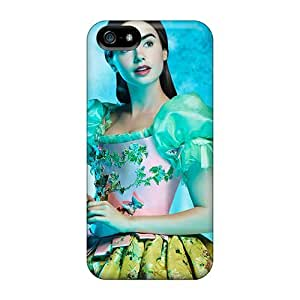 High-end Cases Covers Protector For Iphone 5/5s(lily Collins As Snow White)
