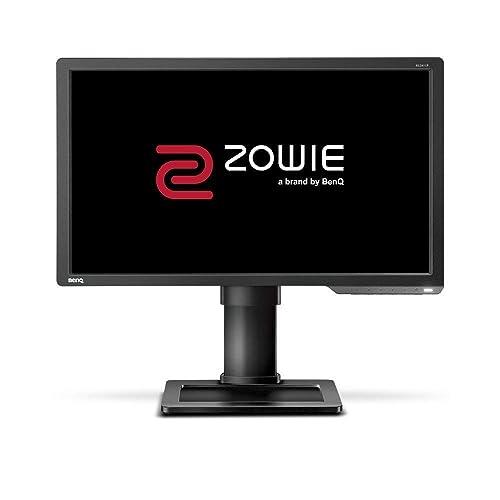BenQ ZOWIE XL2411P Écran eSports Gaming de 24 pouces, 144 Hz, 1ms, Pied réglable en hauteur, Display Port, Black eQualizer, Noir Gris