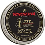 Daisy Outdoor Products 987418-446 Winchester Hollow Point 0.177 Caliber Pellets, Silver