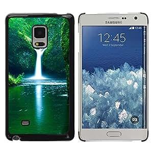 Be Good Phone Accessory // Dura Cáscara cubierta Protectora Caso Carcasa Funda de Protección para Samsung Galaxy Mega 5.8 9150 9152 // Nature Falls Beautiful Waterfalls