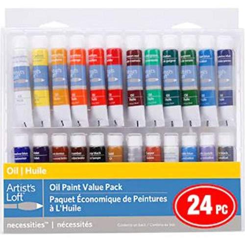 24 Color Necessities Oil Paint Value Pack by Artist's Loft