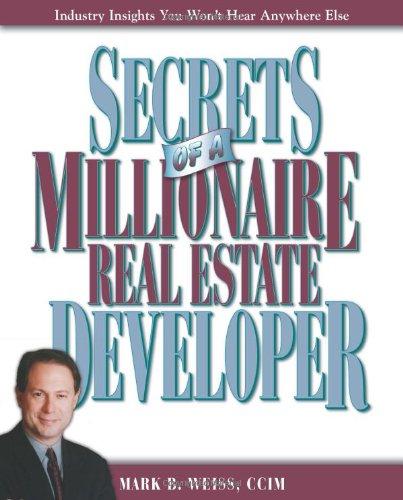 Secrets of a Millionaire Real Estate Developer pdf epub