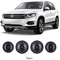 SOUMATRIX OE Upgrade Speaker Kit VHK3 for VW Atlas17-18 Beetle12-18 EOS Jetta05-10/SportWagen11-14 Rabbit Tiguan09-17 All New Tiguan17-18