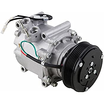 AC Compressor & A/C Clutch For Honda Civic 2002 2003 2004 2005 - BuyAutoParts 60-01584NA NEW
