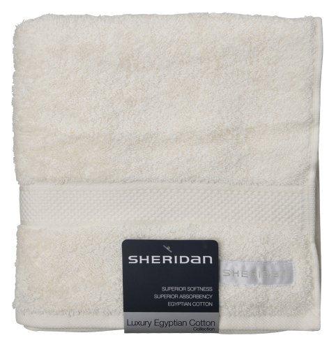 Sheridan, Hand Towel, Egyptian Luxury, Parchment, 50 x 100cm by Sheridan