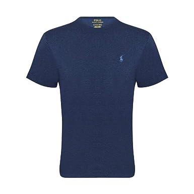 brand new b77e2 611c3 Ralph Lauren Maglietta Polo T-Shirt Uomo Classic Fit Girocollo Cotone