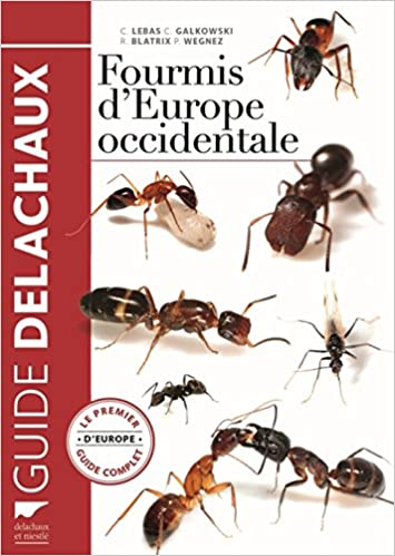 Book Fourmis d'Europe occidentale