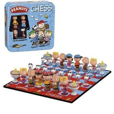 - Peanuts Chess Set (Tin Carry Case Included)