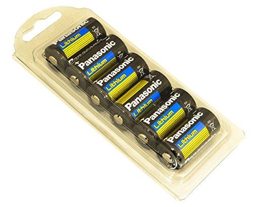 panasonic 123 lithium - 9