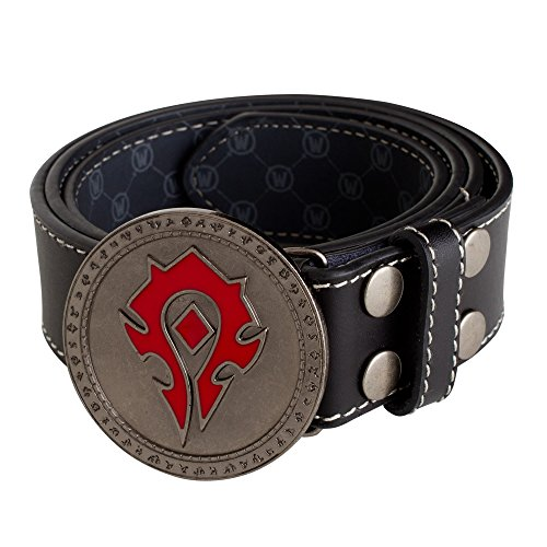 JINX World of Warcraft Horde Leather Belt