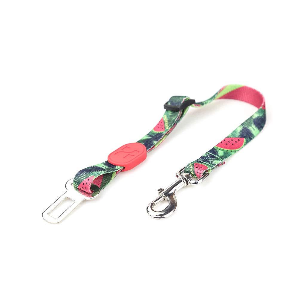 KHFFH Pet Seat Belt, Pet Car Seat Belt, Adjustable Safety Buckle Pet Leash (Color : #4) by KHFFH