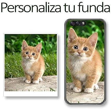 Tumundosmartphone Personaliza tu Funda Gel con tu Fotografia para Xiaomi Redmi 5 Plus Dibujo Personalizada