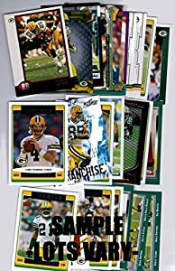Lot of (25) Green Bay Packers Football Cards - Fan Favorites, Stars, Rookies & More!