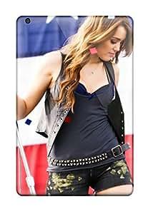 New Style ZippyDoritEduard Miley Cyrus Widescreen Hd Premium Tpu Cover Case For Ipad Mini/mini 2