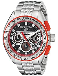 Invicta Men's 18927 S1 Rally Analog Display Quartz Silver Watch