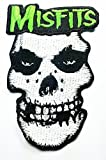 Misfits Rock Music Band Patch Embroidered Iron on Hat Jacket Hoodie Backpack Ideal for Gift/ 7cm(w) X 10.5cm(h)