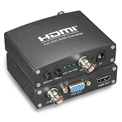 Conversor AHD TVI CVI para CVBS VGA HDMI para Cameras CFTV