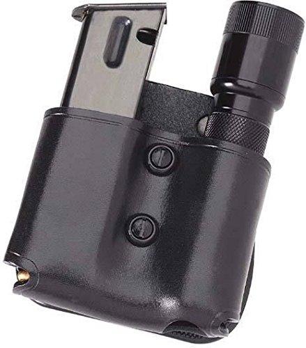 Galco MFP22B Cop Magazine Flashlight Paddle, Black, Ambidextrous