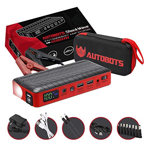 Autobots Shockwave Starter Portable Automotive product image
