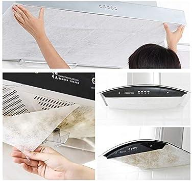 Filtros de papel con ventosa y doble cara adhesiva, para cocina, no tejidos, 12 unidades: Amazon.es: Hogar