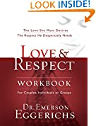 #4: Love and   Respect Workbook: The Love She Most Desires; The Respect He Desperately Needs