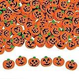 "144 ~ Halloween Pumpkin Jack-o-lantern Mini Erasers ~ Approx. 3/4"" ~ New"