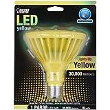 Feit PAR38/Y/LEDG5 LED Yellow PAR38 Reflector