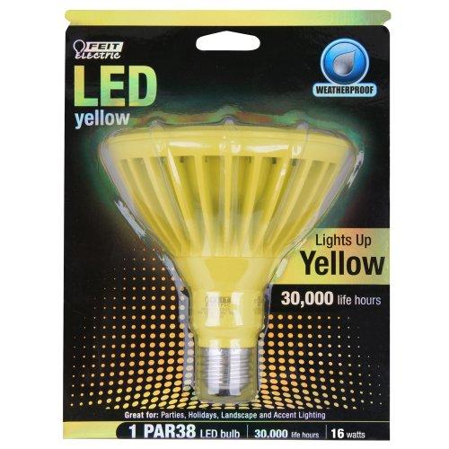 Par38 Reflector Lamp (Feit PAR38/Y/LEDG5 LED Yellow PAR38 Reflector)