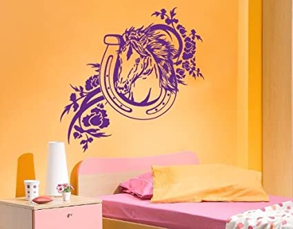 Horse Shoe Wall Decal By Style U0026 Apply   Highest Quality Wall Decal,  Sticker,